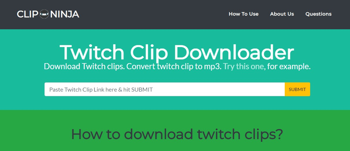How to Convert Twitch Clip to mp4? [Step-by-step]