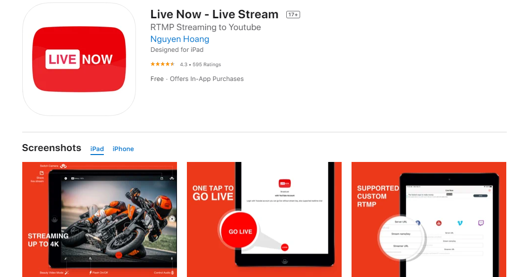 How to Live Stream YouTube On iPhone? [Step by Step]