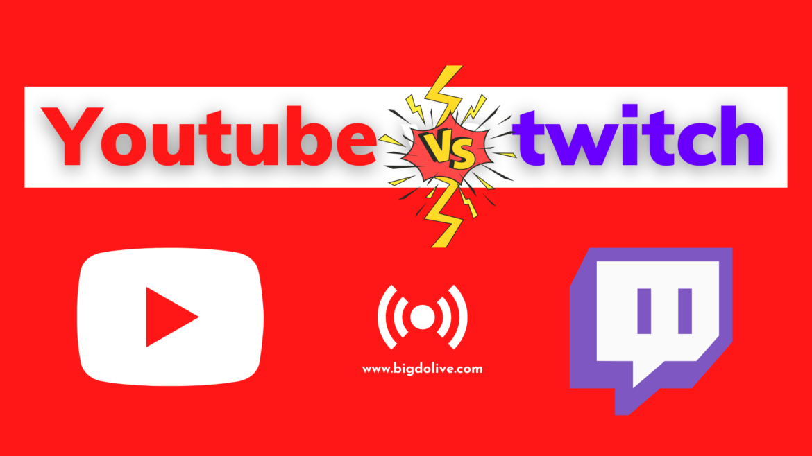 YouTube Streaming vs Twitch – What Are The Difference?